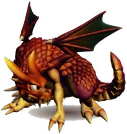 The Red Dragon's render in Ogre Battle 64: Person of Lordly Caliber
