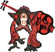 Démon rouge