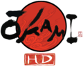 Ōkami HD logo