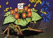 Bandit spider artwork