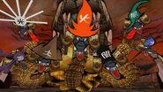 Orochi avant combat