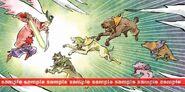 Ushiwaka et guerriers canins