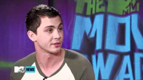 'Percy Jackson Sea Of Monsters'Will Bring 'Bigger' Everything - Logan Lerman MTV Interview