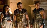 ATHENA AND ZEUS AND POSEIDON