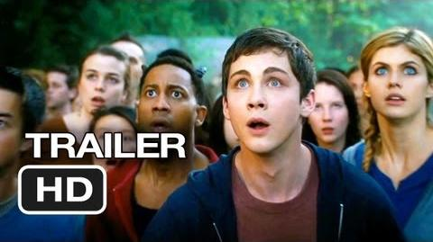 Percy Jackson Sea of Monsters Official Trailer 2 (2013) - Logan Lerman Movie HD-0