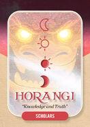 Horangi Clan card