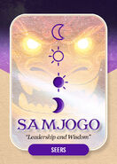 Samjojo Clan card
