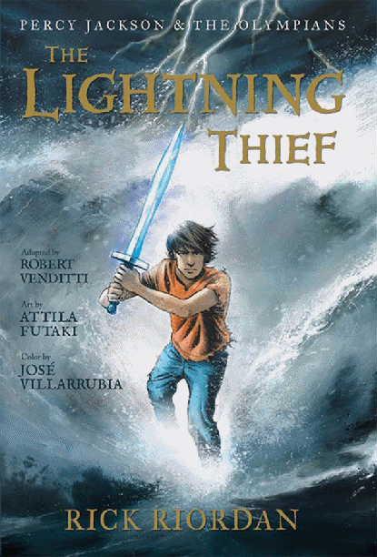 The Lightning Thief (graphic novel)