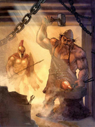 Hephaestus and Ares