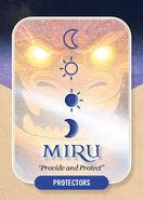 Miru Clan card