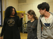 Carrie-compere-kristin-stokes-and-chris-mccarrell-rehearse-121901