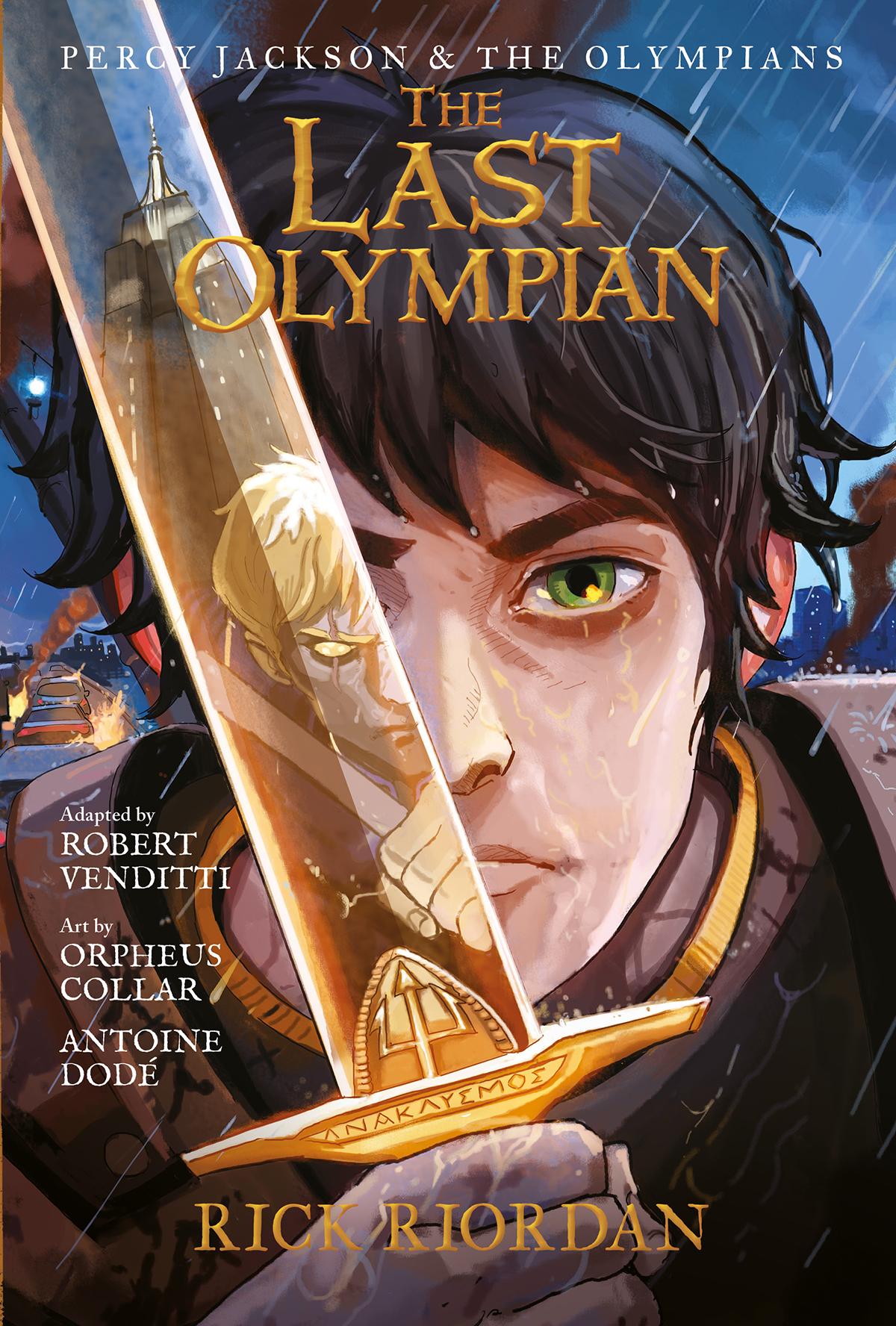 The Last Olympian (graphic novel)