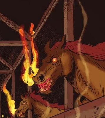Fire-Breathing Horse