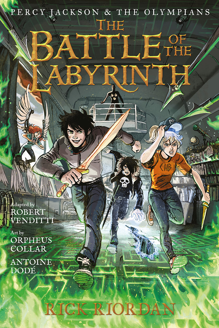 The Battle of the Labyrinth (graphic novel)