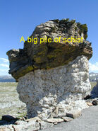 A big pile of schist