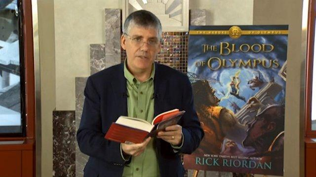 Rick Riordan Reads Blood of Olympus Preview