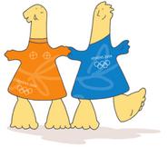 Athena-and-phevos-mascots