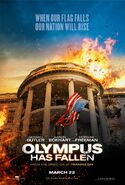 Olympus Has Fallen teaser poster