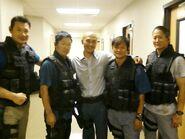 OHF- stuntmen Danny Le Boyer, Simon Rhee, Kevin Moon, Andy Cheng & Allen Jo