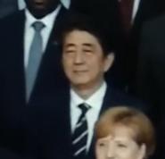 Shinzo Abe in Angel has Fallen