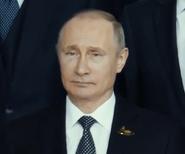 Vladimir Putin in Angel has Fallen