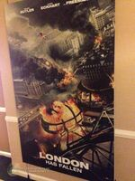 London Has Fallen teaser poster low quality