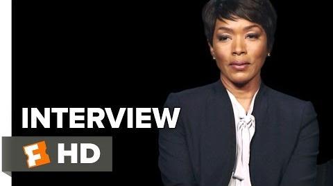 London Has Fallen Interview - Angela Bassett (2016) - Action Movie HD
