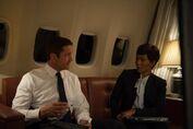 LHF- Banning (Gerard Butler) and Jacobs (Angela Bassett) in London Has Fallen