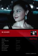 OHF- Profile Dossier 8- Margaret Asher