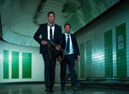 LHF- Asher and Banning retreat through subway