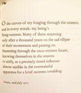 Dalton's Favorite Poem
