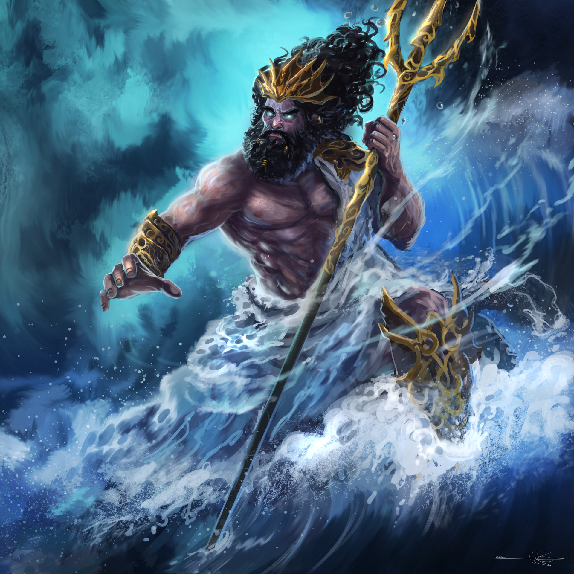 Poseidon (Greek Mythology) | Omniversal Battlefield Wiki ...