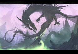 Dark dragon by VampirePrincess007.jpg