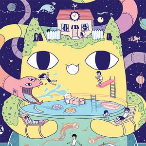 Omori Video game Wall Hanging Omori Poster Wall Tapestry Animation
