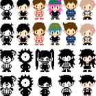 Omori Beta Sprite Designs