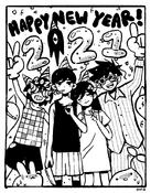 Happy New Year (2021) Sketch