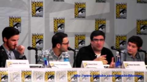 Comic Con 2014 Once Upon a Time Panel Clip 2