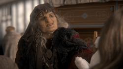 1x17 Méchante Reine Regina vieille marchande vendeuse de jouets borgne refus affaires
