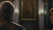 4x08 Elsa Roi Reine Gerda d'Arendelle Anna portrait couple royal château