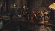 1x06 chopes de bière tasses des Sept Nains boutique d'antiquités