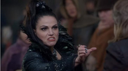 5x12 Reine Regina étranglement Dent noire