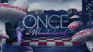 Once Upon a Time in Wonderland logo titlecard générique épisode W1x08