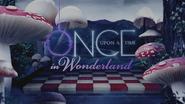 Once Upon a Time in Wonderland logo titlecard générique épisode W1x03