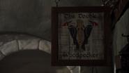 7x14 The Double Woodpecker