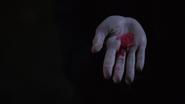 7x15 Poudre pavot rouge main
