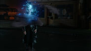 6x10 Magie métamorphose bleue Méchante Reine rue