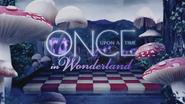 Once Upon a Time in Wonderland logo titlecard générique épisode W1x05