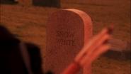 5x14 pierre tombale Blanche-Neige