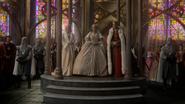 6x10 cérémonie adoubement Princesse Emma Swan Reine Blanche-Neige Roi David chapelle pavillon