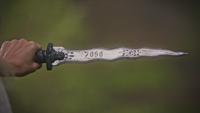 5x07 dague du Ténébreux nom Zoso